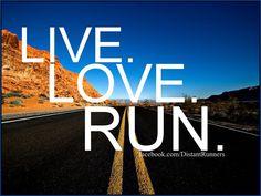 {live. love. run.}