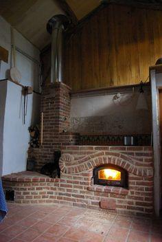 feu de bois poele de masse - cuisiniere de masse