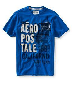 aeropostale for men | aeropostale mens aero 87 seaside graphic t shirt