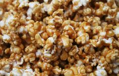 Sinfully Delicious Caramel Popcorn: Great Super Bowl snack! This is THEE best and simplest caramel popcorn; a treat that our kids beg us to make while watching a movie or having sleepovers at the house. It's gobbled up so quick, no kernel is left behind. It's sinfully delicious.