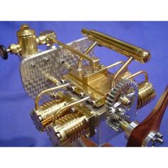 Liney RV-2 (Kit) - the RV-2 is a four cylinder opposed style engine with gear driven valves and timing.