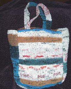 How to make & use plarn (Plastic yarn)