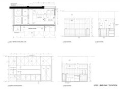 Lee Ho Fook Duckboard Place,Bar Plans