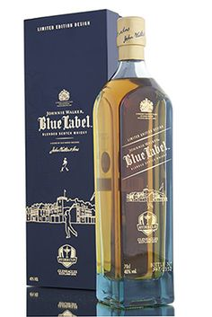 A limited edition design on this Johnnie Walker Blue, released in celebration of the Ryder Cup 2014, which is to be hosted later this year at the magnificent Gleneagles hotel in Perthshire, Scotland.  http://www.abbeywhisky.com/johnnie-walker-blue-label-ryder-cup-edition-2014