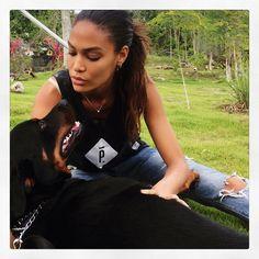 Joan Smalls @joansmalls Instagram photos | Websta Joan Smalls, Puppy Love, Puppies, T Shirts For Women, Instagram Posts, Photos, Fashion, Interview, Hairdos