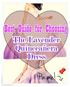 """Lavender Quinceanera dress - You are the """"belle of the ball, and all eyes are going to be on you, for this reason we've some pointers on how to select the perfect Quinceanera gown for you. Lavender Quinceanera Dresses, All About Eyes, Different Patterns, Pointers, Gown, Ballroom Dress, Stylus, Robe, Gowns"""
