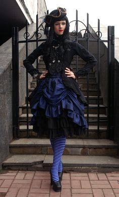 Like the shortness of the skirt for cooling ability, but may be too much like a Lolita.  ~ W