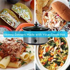 Skinny Crock Pot Dinners