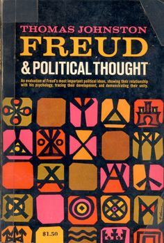 'Freud and Political Thought'. Design by Richard Osborne