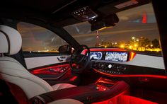 2014 Mercedes-Benz S-Class - LED interior lighting. - Picture Gallery, photo 14/23 - The Car Guide