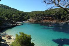 Cala Salada: Surrounded by pine forested hills, this protected sandy little cove is a favourite for residents and private boat owners as no tourist ferri...