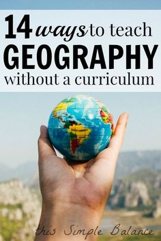 Looking for an affordable way to add geography to your homeschool? Try these ideas for homeschooling geography without a curriculum. They are great for unschooling or relaxed homeschoolers. Travel The World For Free, Travel With Kids, Family Travel, Baby Travel, Group Travel, Travel Advice, Travel Tips, Travel Hacks, Budget Travel