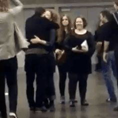 (3) Matt Smith and Alex Kingston hugging at Wizard World Portland 2016 -- ksc and Matt keeps hugging her *sniff* my life is complete. How he still loves his Alex. My beautiful #Mattex ☺♥♥
