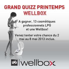 Le Quizz WELLBOX | Beauté Addict