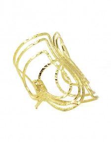 Charlene K 24k Gold Plated Cuff