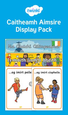 This Display Pack contains all the resources you need to make an interesting and informative display based on the theme of Caitheamh Aimsire. Irish Language, Scottish Gaelic, Primary Teaching, Home Economics, Infants, St Patrick, Ireland, Packing, Posters