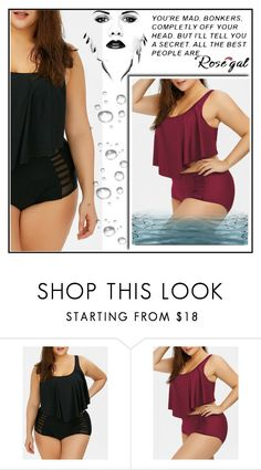 """""""ROSEGAL"""" by ajna123 ❤ liked on Polyvore"""