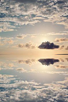 Heaven reflection by Maurizio MAKEMENICE