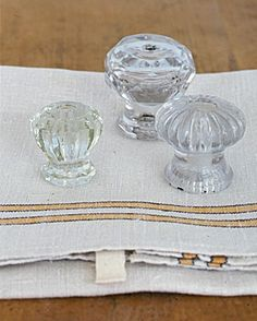 From vintage glass knobs to antique towel bars, these everyday objects from the past can lend effortless style to your home with a few simple spruce-ups. The Find: Vintage KnobsDish towels are a necessity in every kitchen, and a row of vintage glass knobs is a pretty way to help keep them organized. The knobs here date from the 1850s through the 1940s. Small knobs like the one on the left were usually found on medicine cabinets; the larger knobs probably came from dressers.