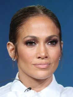 Jennifer Lopez Photos Photos - Actress Jennifer Lopez of the television show 'Shades of Blue' speaks onstage during the NBCUniversal portion of the 2017 Winter Television Critics Association Press Tour at the Langham Hotel on January 18, 2017 in Pasadena, California. - 2017 Winter TCA Tour - Day 14
