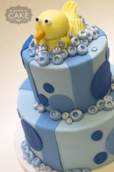 Nice cake for baby shower!