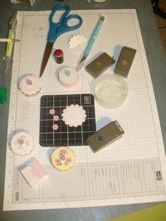 Tea Light Cakes materials needed