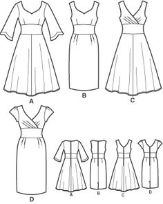 Simplicity 3774. I have many ideas, one incorporating ridiculous indigo taffeta.
