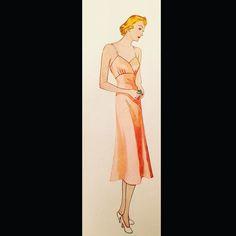 #vintagefashion #1940s #vintagestyle #vintagesewing #sewing by vintagefashionlibrary