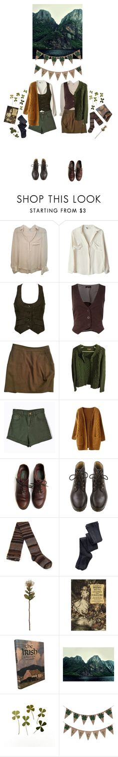 """March 17"" by thesightofstars ❤ liked on Polyvore featuring Haute Hippie, To Be Adored, Therapy, Maje, Sandro, Chicnova Fashion, PS from Aero and Crate and Barrel"