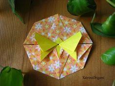 Origami ƸӜƷ Butterfly Tato ƸӜƷ - YouTube