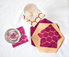 If you have never crafted before, DIY coasters are a great place to start! These 20+ ideas will allow you to try a variety of handmade techniques.