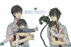 Rin & Yukio | Ao no Exorcist