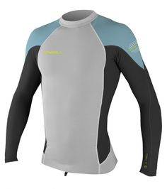 0.5mm Men's O'Neill HYPERFREAK NEO L/S Crew Rashguard | Wetsuit Wearhouse