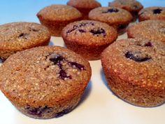 Grove blåbær muffins - fedtfattige - Opskrift-kage.dk