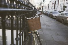 Old Bike in Notting Hill