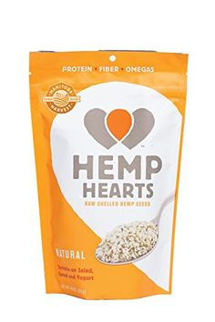 Manitoba Harvest Hemp Hearts Raw Shelled Hemp Seeds, with Protein & Omegas per Serving, Whole 30 Approved, Non-GMO, Gluten Free Gourmet Recipes, Baking Recipes, Healthy Recipes, Healthy Foods, Healthiest Foods, Raw Recipes, Healthy Heart, Baking Desserts, Healthy Desserts