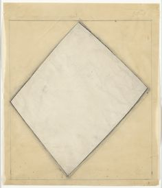 "Ellsworth Kelly. Study for White Sculpture. (1958). Cut-and-pasted paper and pencil on tracing paper. 14 1/8 x 12 1/8"" (36.8 x 30.8 cm). Gift of the artist in honor of Betty Parsons. 506.1997. © 2017 Ellsworth Kelly. Drawings and Prints"