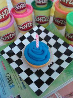 Play~doh cupcake