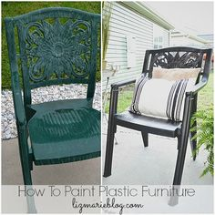 38 Best Painting Plastic Furniture Images Painting