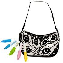 Mine to Color Fashion Purse Kits at Deals