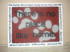 523a1a1397013 Hail State! MSU Art by @Emily Schoenfeld Yow Pearson State Crafts, Mississippi  State