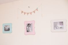 Project Nursery - Vintage Baby Girl Nursery Framed Photo