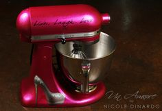 High Heel Custom Hand Painted KitchenAid Mixer