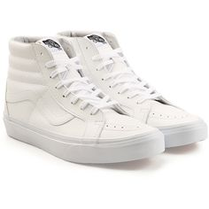 29a13fe20906 Vans Classic Tumble Sk8-Hi Reissue Leather Sneakers (585 SEK) ❤ liked on