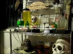 How-To Make a Halloween Mad Scientist Laboratory