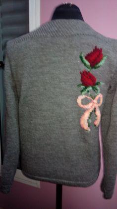 Suéter bordado..2016