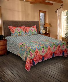 Red & Blue Quilt | Something special every day