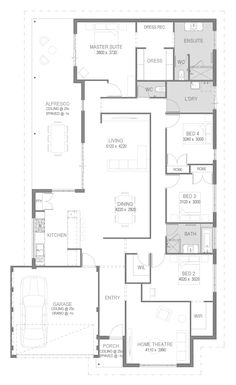 The Carlisle Floorplan by GO Homes