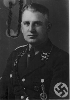 Max Pauly, Kommandant at Stutthof (1941-1942) and Neuengamme (1942-1945.) Some 65,000 to 85,000 persons perished at Stutthof during the war, while 40,000 to 56,000 died at Neuengamme. Max Pauly was hanged on October 8, 1948 at Hameln, Germany, probably by the British hangman Albert Pierrepoint.