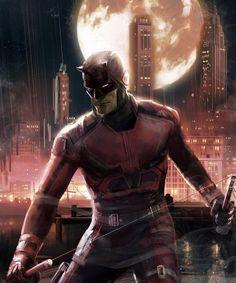 Daredevil(Matt Murdock) Art by Hq Marvel, Marvel Comic Universe, Marvel Series, Marvel Dc Comics, Netflix Marvel, Spiderman Marvel, Comics Universe, Daredevil Punisher, Daredevil Artwork